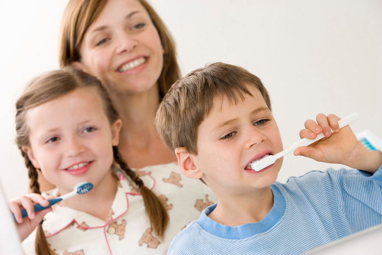 17 - brush teeth