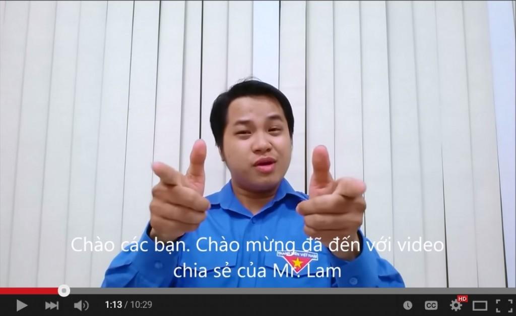 Chia sẻ từ anh Lâm