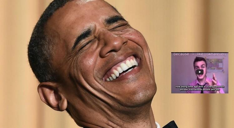 facebook obama laugh