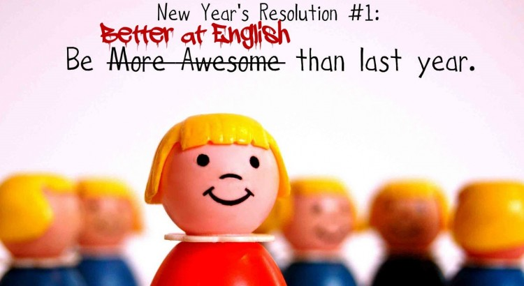 2016 new year resolution English (2)