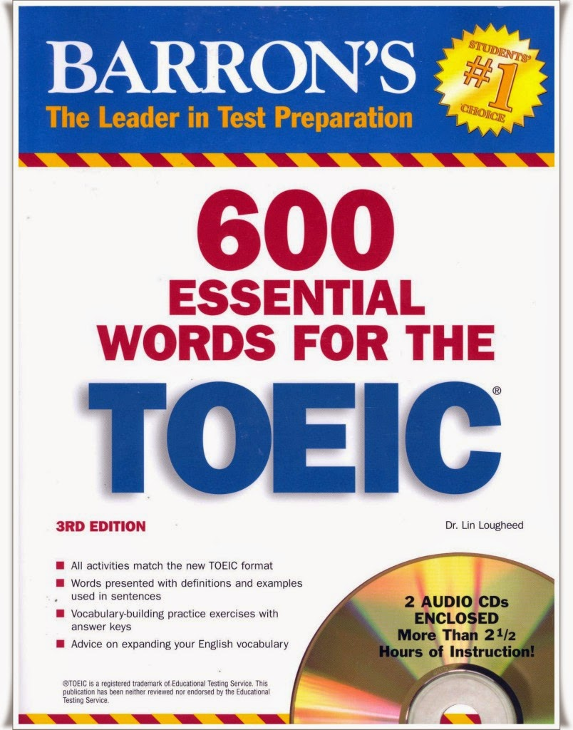 600 essential words for the TOEIC
