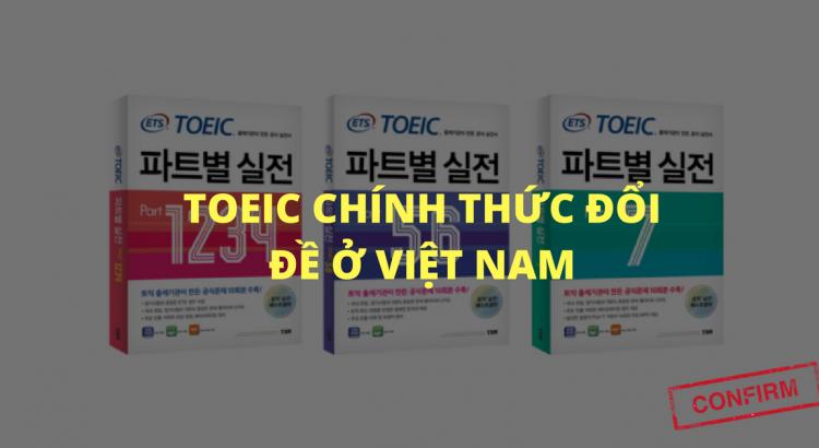 TOEIC CHINH THUC DOI DE